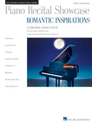 Carol Klose_Christos Tsitsaros_Eugénie Rocherolle_Jennifer Linn: Piano Recital Showcase: Romantic Inspirations