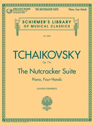 Pyotr Ilyich Tchaikovsky: The Nutcracker Suite - Piano Duet Play-Along (Book/Online Audio)