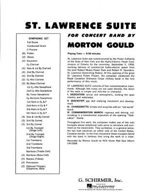 Morton Gould: St. Lawrence Suite