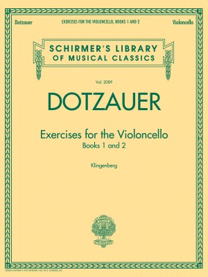 Dotzauer: Exercises for the Violoncello – Books 1 and 2