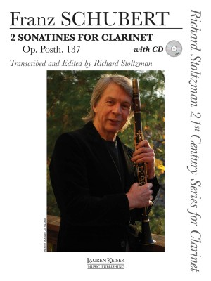 Franz Schubert: 2 Sonates for Clarinet, Op. post. 137