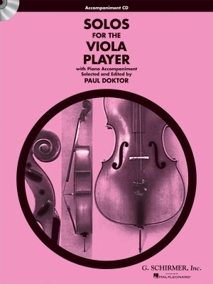 Solos For The Viola Player Accompaniment CD