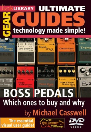 Boss Pedals - Which Ones to Buy and Why