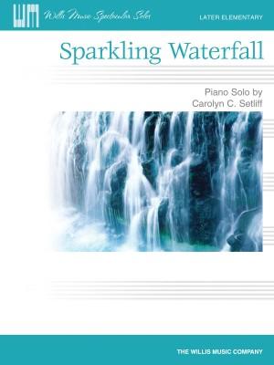 Carolyn C. Setliff: Sparkling Waterfall