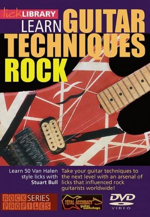 Learn Guitar Techniques: Rock