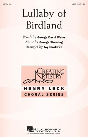 George Shearing: Lullaby of Birdland