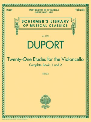 Jean-Louis Duport: 21 Etudes For The Violoncello - Complete Books 1 And 2