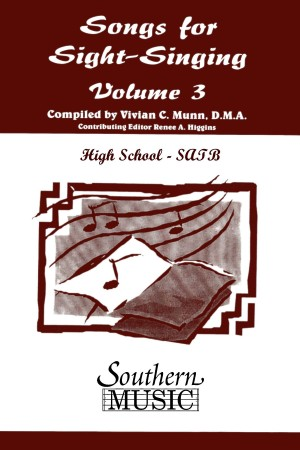 Bobby Siltman: Songs For Sight Singing Volume 3 Hs-Satb