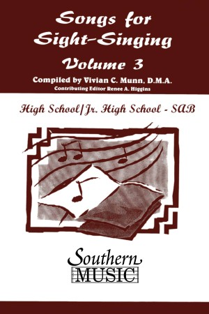 Bobby Siltman: Songs For Sight Singing Volume 3 Sab
