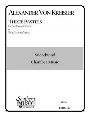 Alexander von Kreisler: Three (3) Pastels