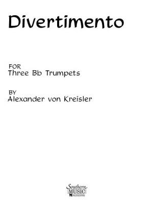 Alexander von Kreisler: Divertimento