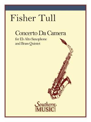 Fisher Tull: Concerto Da Camera (Br.5 W-Alto Sax)