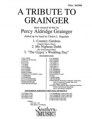 Percy Aldridge Grainger: Tribute To Grainger, A