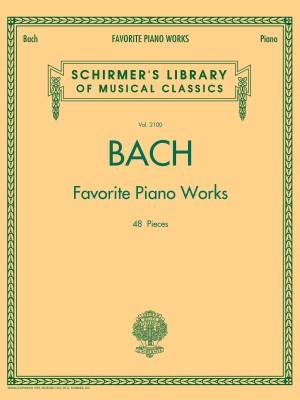 Johann Sebastian Bach: Favourite Piano Works
