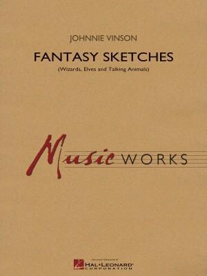 Johnnie Vinson: Fantasy Sketches