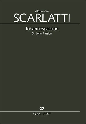 Scarlatti: Johannespassion
