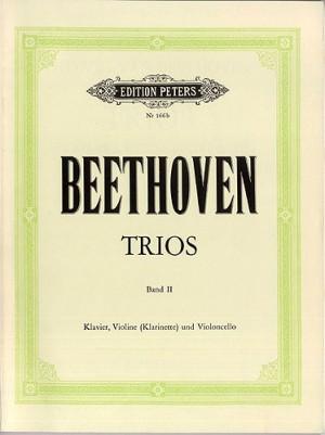 Beethoven: Trios for Violin (or Clarinet), Cello & Piano