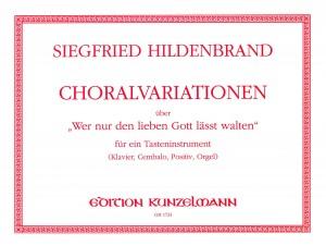 Hildenbrand, Siegfried: Choralvariationen Product Image