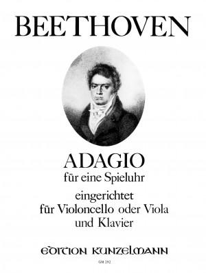 Beethoven, Ludwig van: Adagio für eine Spieluhr