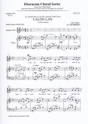 Hughes: Calon Lan (A Pure Heart)