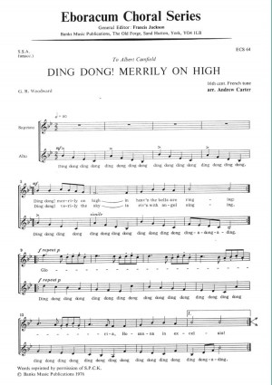 Carter: Ding Dong Merrily On High