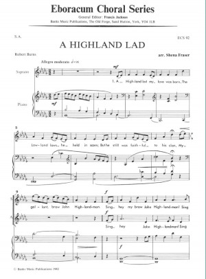 Fraser: Highland Lad My Love Was Born, A