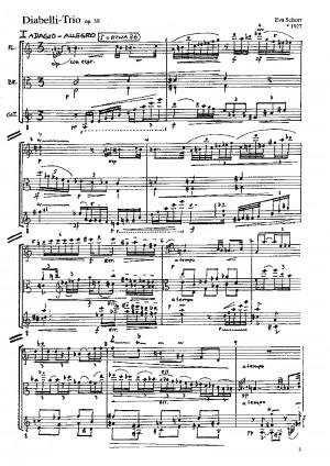 Schorr: Diabelli-Trio