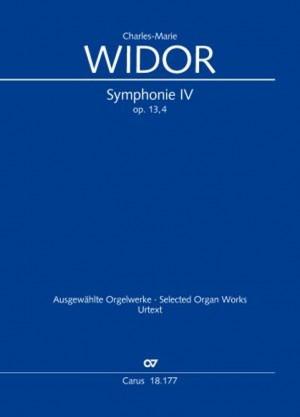 Widor: Symphonie pour Orgue No. IV, op. 13/4