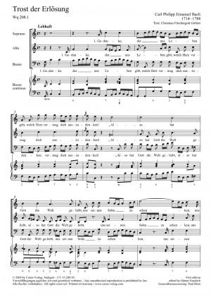 Bach, CPE: Zwei Motetten