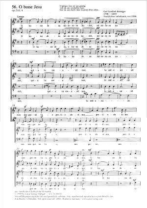 Reissiger: O bone Jesu (Op.210 no. 4; G-Dur)