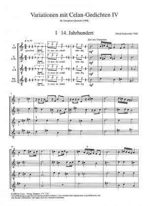 Karkoschka: Variationen mit Celan-Gedichten IV