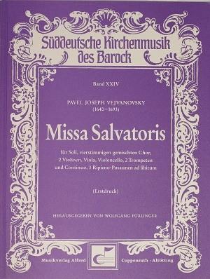 Vejvanovsky: Missa Salvatoris