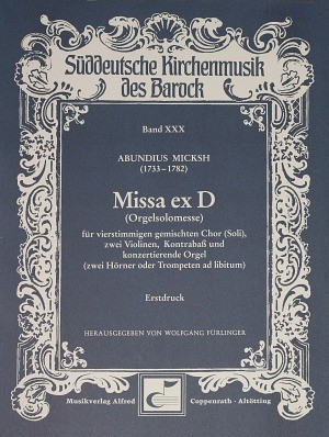 Micksh: Missa ex D (D-Dur)