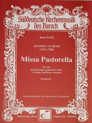 Schenk: Missa Pastorella