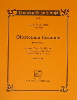 Nussbaumer: Offertorium Pastorum