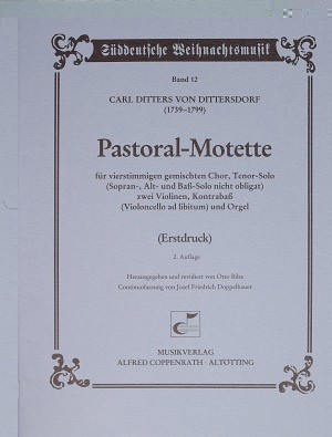 Dittersdorf: Pastoral-Motette (C-Dur)