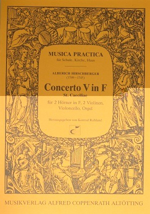 Hirschberger: Concerto V in F (F-Dur)