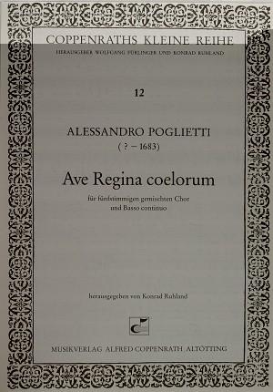 Poglietti: Ave Regina coelorum