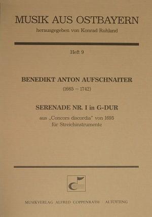Aufschnaiter: Serenade Nr. I in G-Dur (G-Dur)