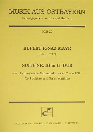 Mayr: Suite Nr. III in G-Dur (G-Dur)