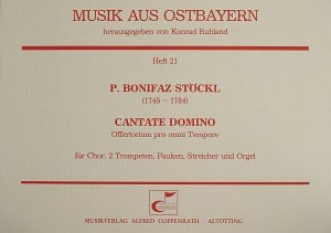 Stöckl: Cantate Domino (C-Dur)