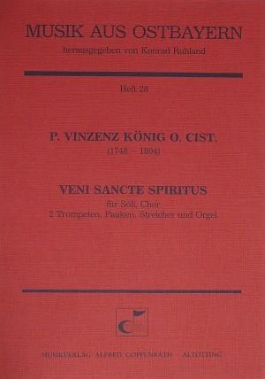 König: Veni Sancte Spiritus (C-Dur)