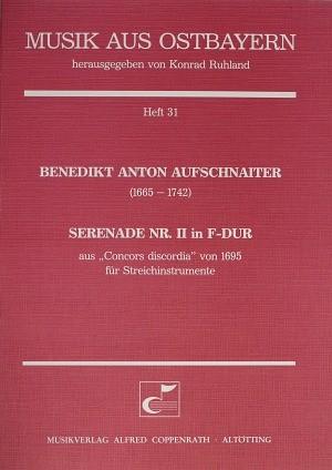 Aufschnaiter: Serenade Nr. II in F-Dur (F-Dur)