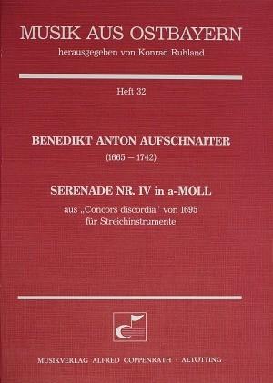 Aufschnaiter: Serenade Nr. IV in a-Moll (a-Moll)