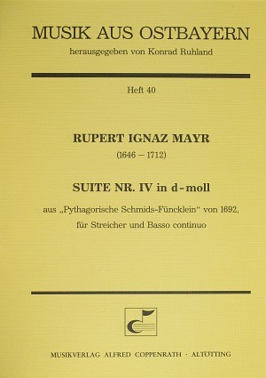 Mayr: Suite Nr. IV in d-Moll (d-Moll)