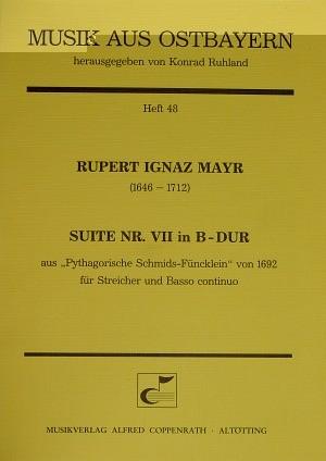 Mayr: Suite Nr. VII in B-Dur (B-Dur)