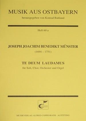Münster: Te Deum laudamus (C-Dur)