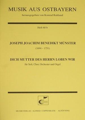 Münster: Dich Mutter des Herrn loben wir (C-Dur)