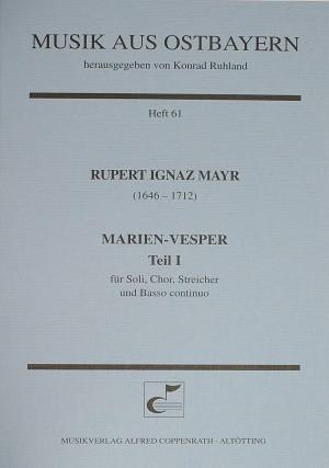 Mayr: Marien-Vesper I