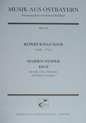 Mayr: Marien-Vesper II